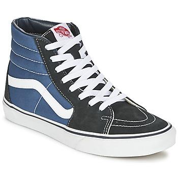 Chaussures Homme Baskets montantes Vans SK8-HI Marine / Noir