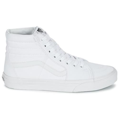 Chaussures Montantes Vans Sk8 hi Blanc Baskets 8Pkn0wO