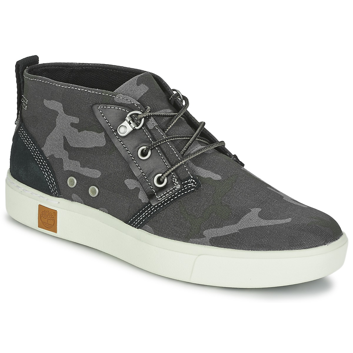 Basket montante Timberland AMHERST CHUKKA Gris / Camouflage noir