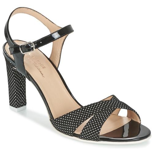 Sandale France Mode ZEN Noir 350x350
