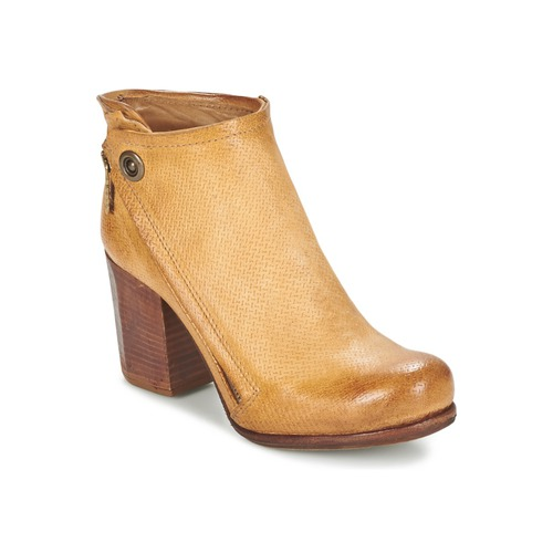 Chaussures Femme Bottines Airstep / A.S.98 SOURCE Camel clair