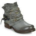 Chaussures Femme Bottes ville Airstep / A.S.98 SAINT Noir fumé