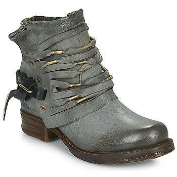 Bottines / Boots Airstep / A.S.98 SAINT Noir fumé 350x350