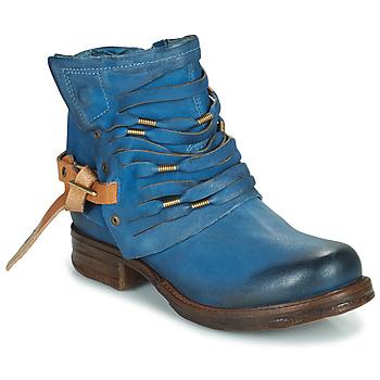 Bottines / Boots Airstep / A.S.98 SAINT Bleu canard 350x350