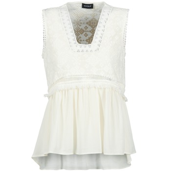 Vêtements Femme Débardeurs / T-shirts sans manche Kookaï VACHOVA Blanc