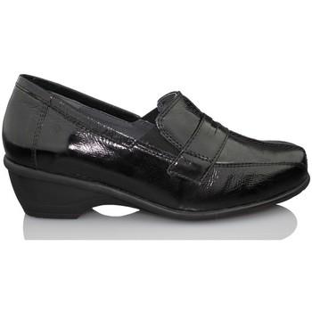 Chaussures Femme Mocassins Dtorres GAND  MOCASIN modèle thérapeutique NOIR