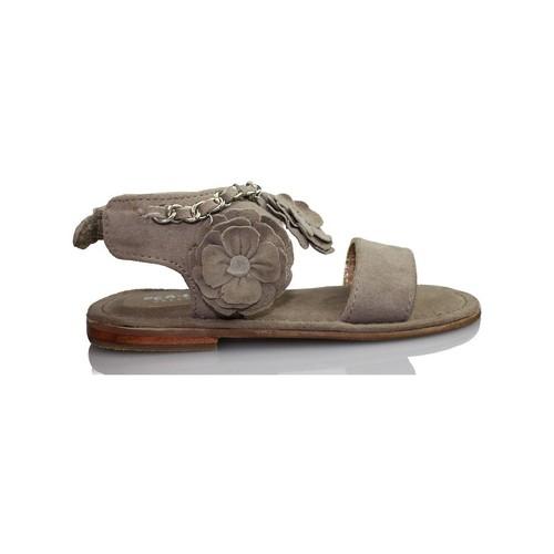 Chaussures Enfant Sandales et Nu-pieds Oca Loca OCA LOCA bébé sandale VALENCIA TAUPE