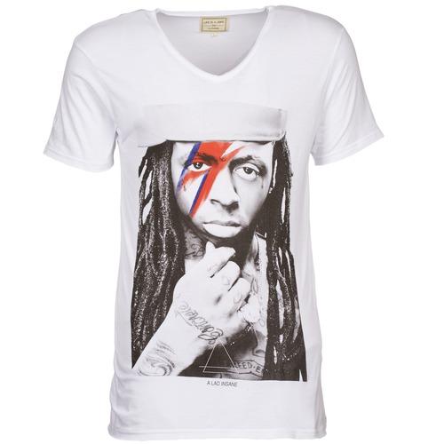Vêtements Homme T-shirts manches courtes Eleven Paris KWAY M Blanc