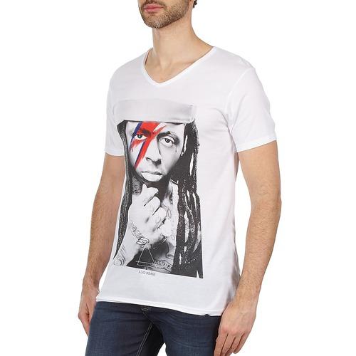 Paris Blanc Manches M T Homme shirts Kway Courtes Eleven 0Ow8kPn