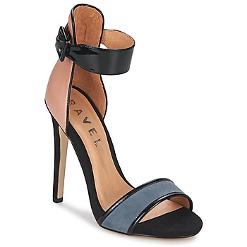 Chaussures Femme Sandales et Nu-pieds Ravel Pansy Nude/Black