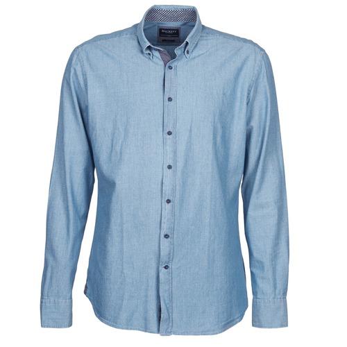 Chemises Hackett RILEY Bleu 350x350