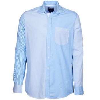 Vêtements Homme Chemises manches longues Hackett GORDON Bleu