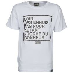 Vêtements Homme T-shirts manches courtes Wati B LOIN Blanc