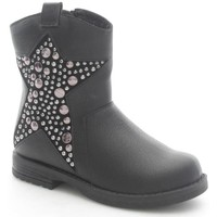 Chaussures Enfant Bottines Lelli Kelly 5346 Bottes et bottines Fille Black Black