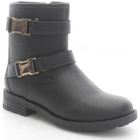 Chaussures Enfant Bottines Lelli Kelly 5456 Bottes et bottines Fille Black Black