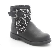 Chaussures Enfant Bottines Lelli Kelly 5302 Bottes et bottines Fille Black Black