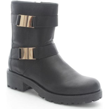 Chaussures Enfant Bottines Lelli Kelly 5496 Bottes et bottines Fille Black Black