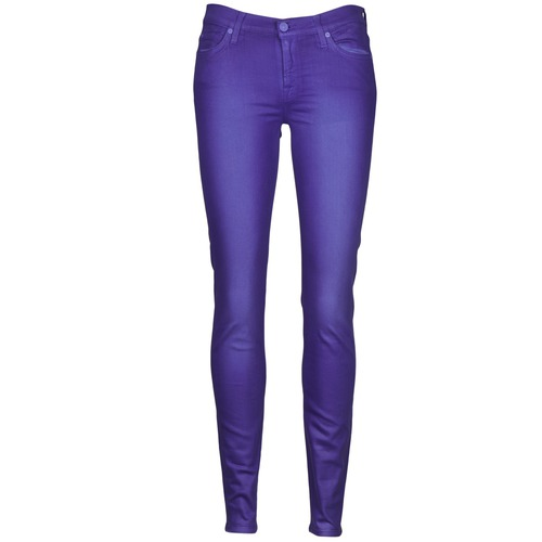 Vêtements Femme Jeans slim 7 for all Mankind THE SKINNY VINE LEAF Bleu