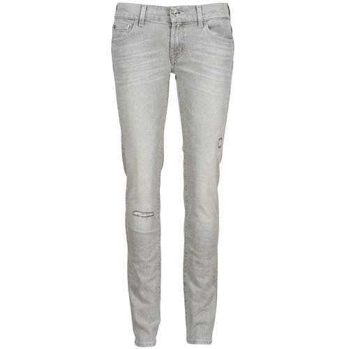 Jeans 7 for all Mankind ROXANNE DESTROYED Gris 350x350