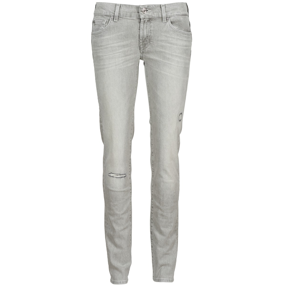 7 for all Mankind ROXANNE DESTROYED Gris
