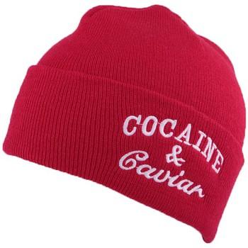 Bonnets Jbb Couture Bonnet Rouge à revers