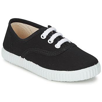 Chaussures Enfant Baskets basses Citrouille et Compagnie KIPPI BOU Noir