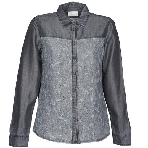 Vêtements Femme Chemises / Chemisiers Esprit Denim Blouse Gris