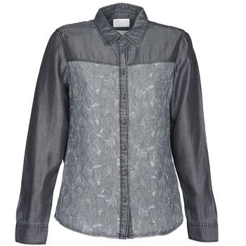 Tops & Chemises  Esprit Denim Blouse Gris 350x350
