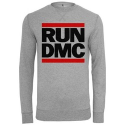 Sweats Mister Tee Sweat Run DMC x  Logo Crewneck Gris