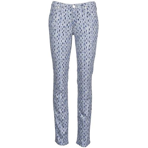 Vêtements Femme Jeans droit Lee MARION STRAIGHT Imprime Bleu
