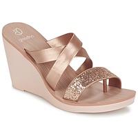 Chaussures Femme Sandales et Nu-pieds Grendha PARADISO II PLAT Rose métallisé