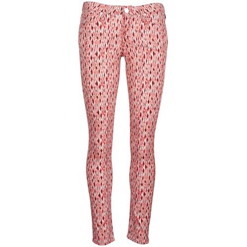 Vêtements Femme Jeans slim Lee SCARLETT Rouge Orange