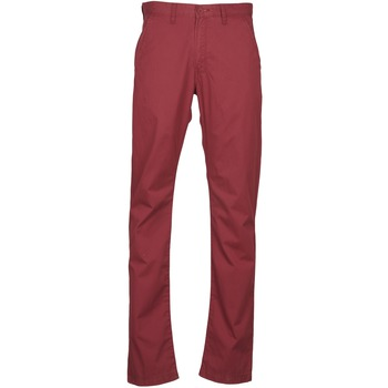Chinos / Carrots Lee CHINO OXBLOOD