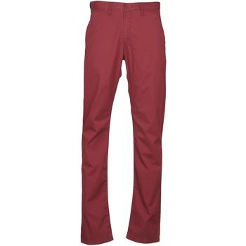 Pantalons Lee CHINO OXBLOOD Rouge 350x350