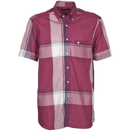 Vêtements Homme Chemises manches courtes Pierre Cardin 538536226-860 Mauve / Violet