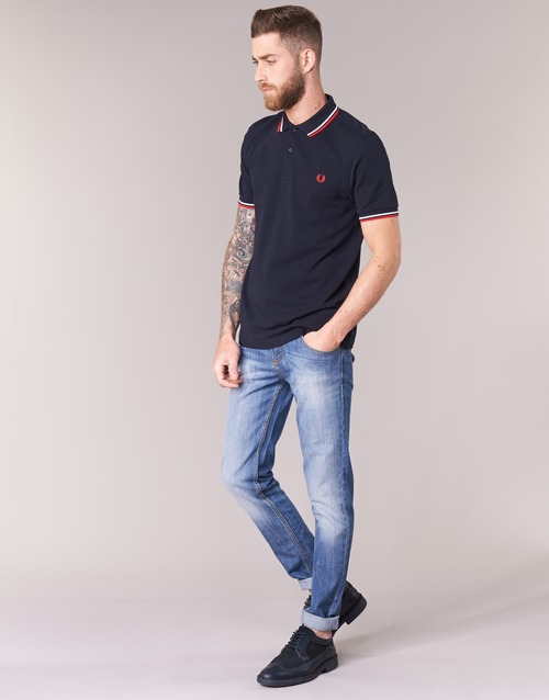 Perry Manches Shirt Courtes Homme Fred Polos The Marine PXkN80wZnO