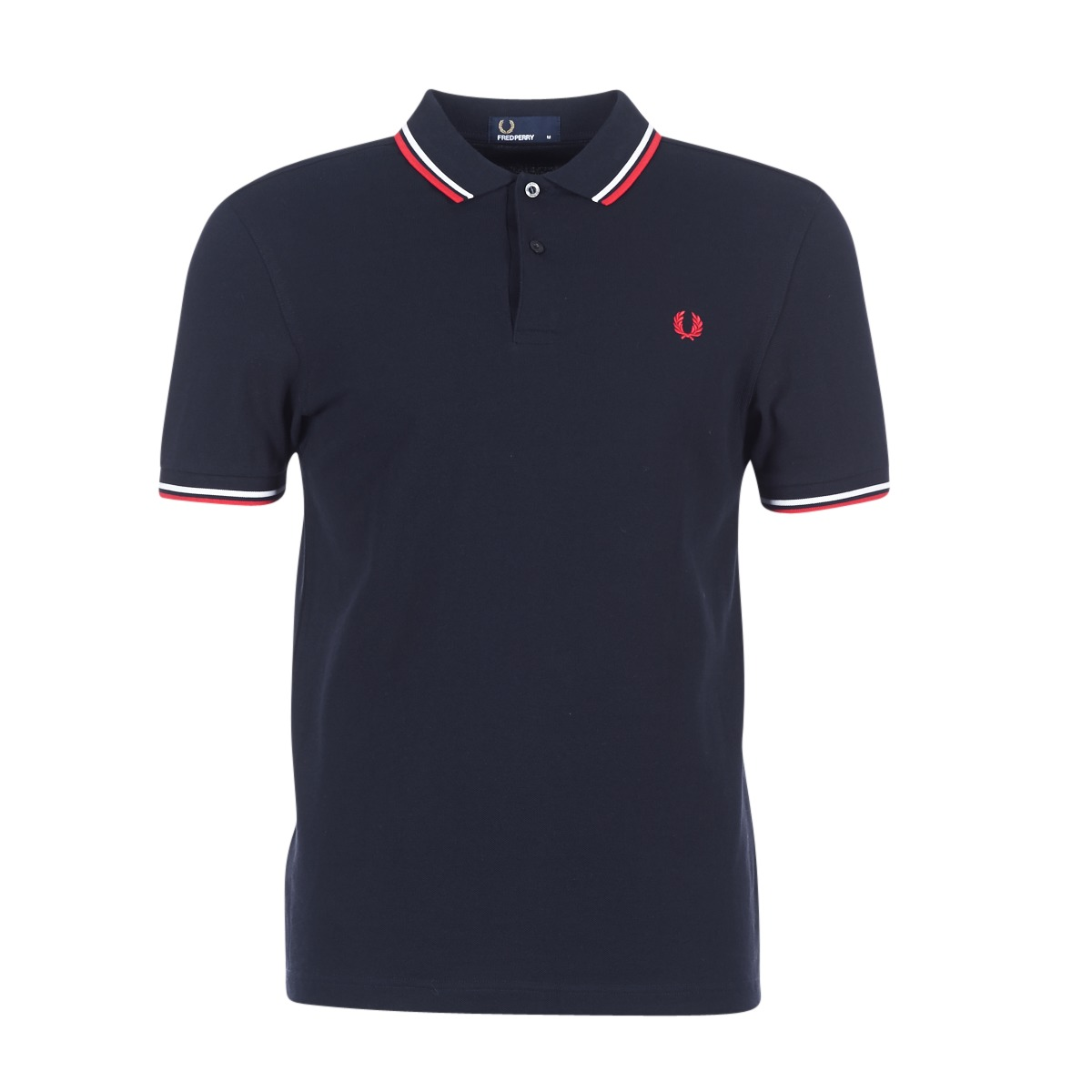 Fred Perry TWIN TIPPED FRED PERRY SHIRT Marine