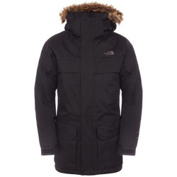 Vêtements Garçon Parkas The North Face Parka  Mc Murdo Junior Garçon - Ref. T0CSF4JK3 Noir