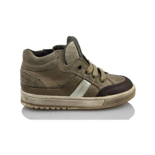 Chaussures Enfant Baskets montantes Acebo's KIDS BOY BRUN