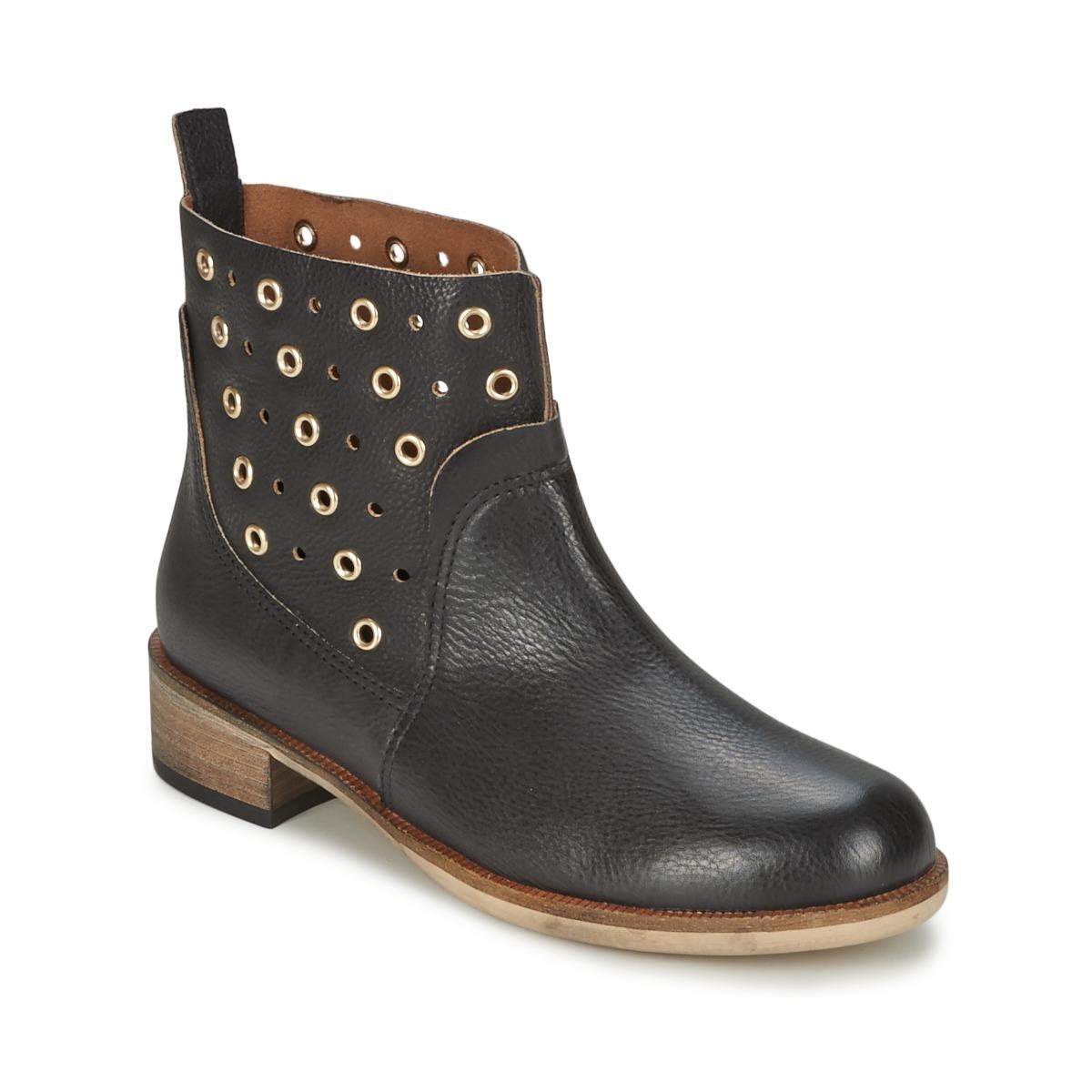 BOSS Casual 50266292 Noir - Livraison Gratuite avec  - Chaussures Boot Femme