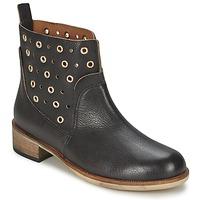 Chaussures Femme Boots Hugo Boss Orange 50266292 Noir