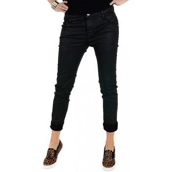 Vêtements Femme Jeans slim Guess Jean Boyfriend  Noir Noir
