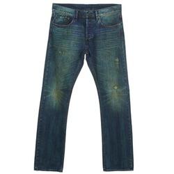 Vêtements Homme Jeans droit Ünkut Six Bleu