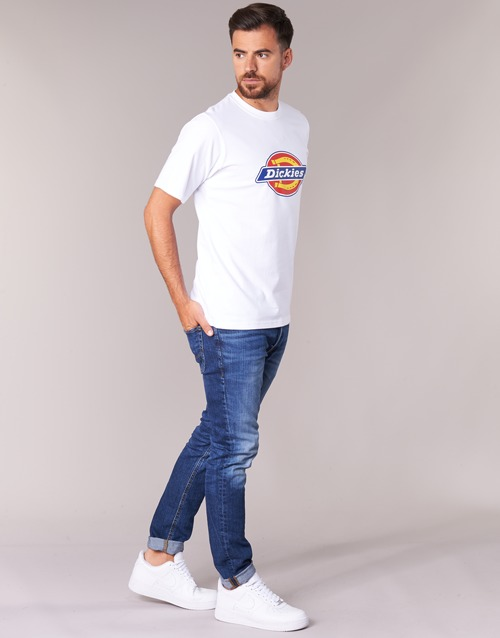 T Blanc Manches Homme Dickies Horseshoe Courtes Tee shirts D2YWE9HI