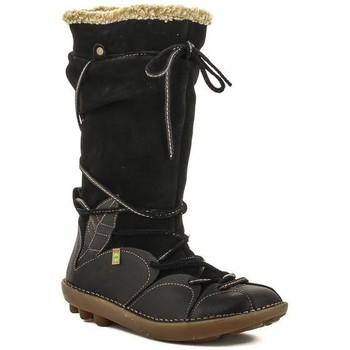 Chaussures Femme Bottes ville El Naturalista N051 GRAIN-LUX Noir