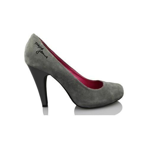 Chaussures Femme Escarpins Pepe jeans jeunes chaussures à talons GRIS