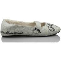 Chaussures Femme Chaussons Pepe jeans rentrer à la maison confortable GRIS