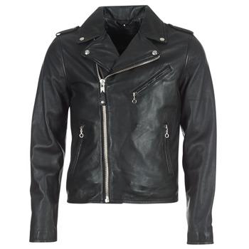 Vestes en cuir / synthétiques Schott VESTE MOTARD PERFECTO