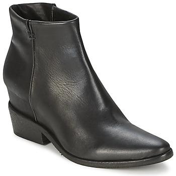 Bottines / Boots Strategia BLOCUSSON Noir 350x350