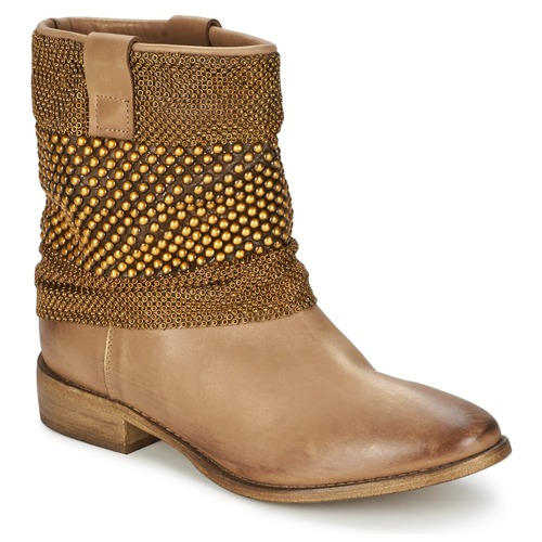 Bottines / Boots Strategia MAILLETT Doré 350x350